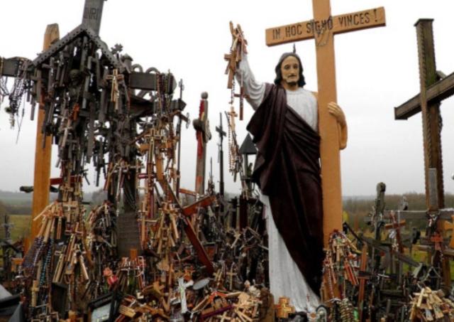 Священная Гора крестов Scree108
