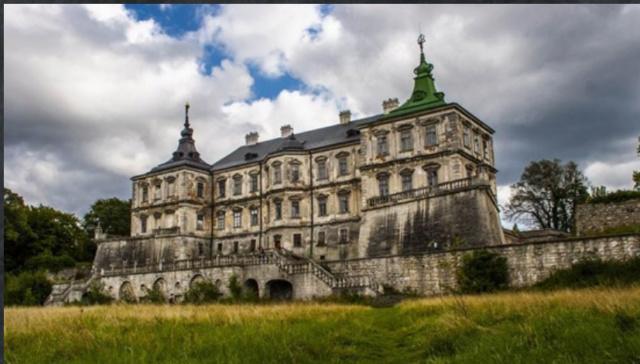 Подгородецкий замок и замурованная красавица Scree129