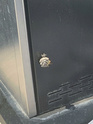 Wasp nest on side of BBQ Wasp111