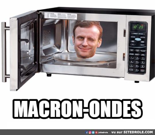 Une image marrante par jour...en forme toujours - Page 24 Macron11
