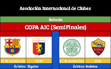 [AICv19] Horario Partidos Aplazados / SF Copa AIC & Copa Community / Liga J7(1D/2D) & Liga J8 (3D) Copa_a10