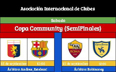 [AICv19] Horario Partidos Aplazados / SF Copa AIC & Copa Community / Liga J7(1D/2D) & Liga J8 (3D) Copa_c10
