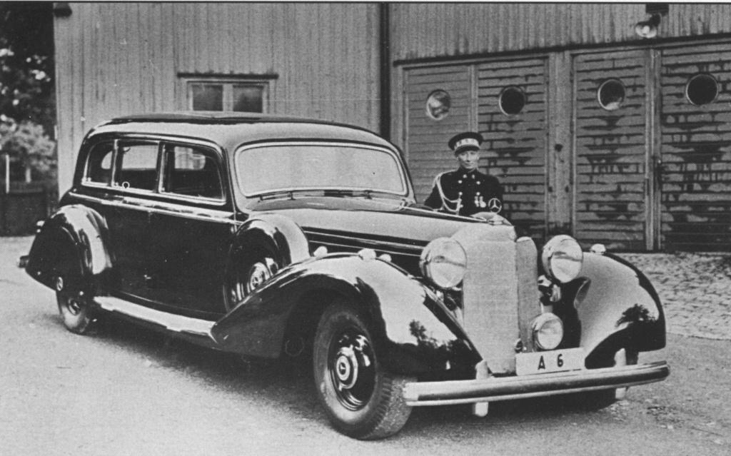 La Pullman limousine 1939 de la Cour de Suède N180-222