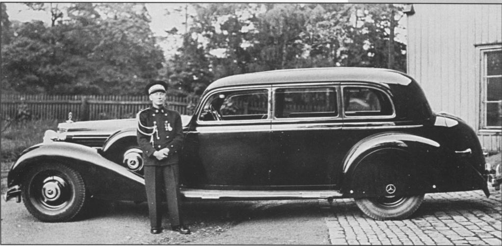 La Pullman limousine 1939 de la Cour de Suède N180-223