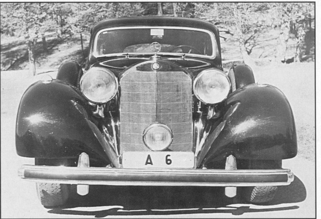 La Pullman limousine 1939 de la Cour de Suède N180-225
