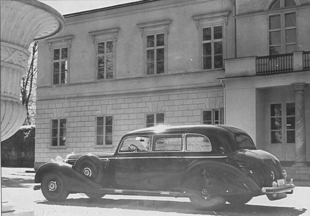 La Pullman limousine 1939 de la Cour de Suède N180-226