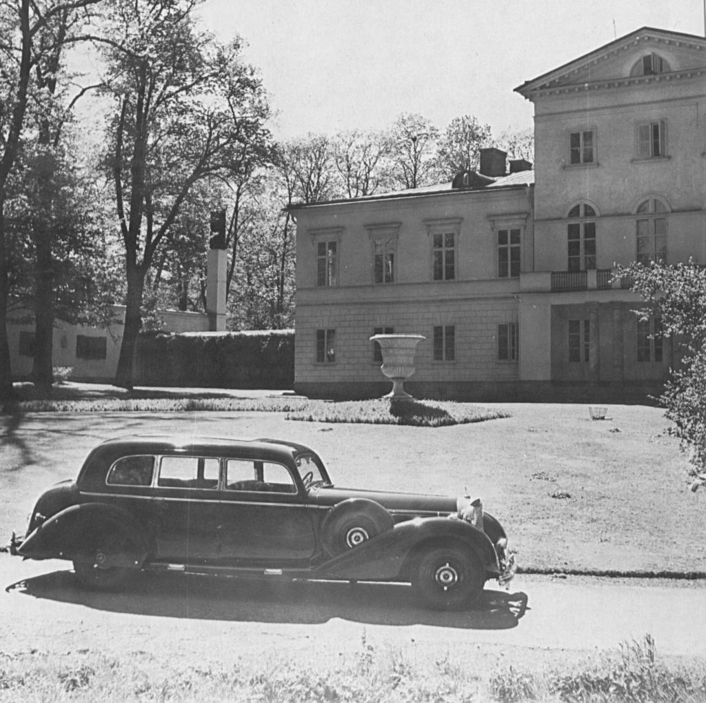 La Pullman limousine 1939 de la Cour de Suède N180-227