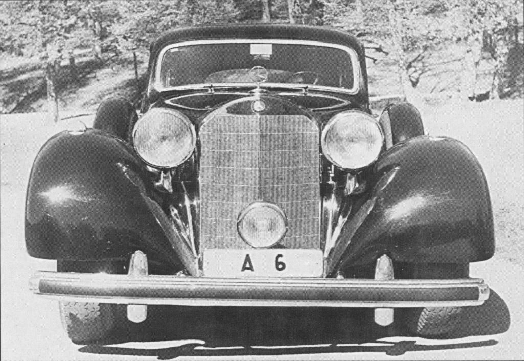 La Pullman limousine 1939 de la Cour de Suède N180-228