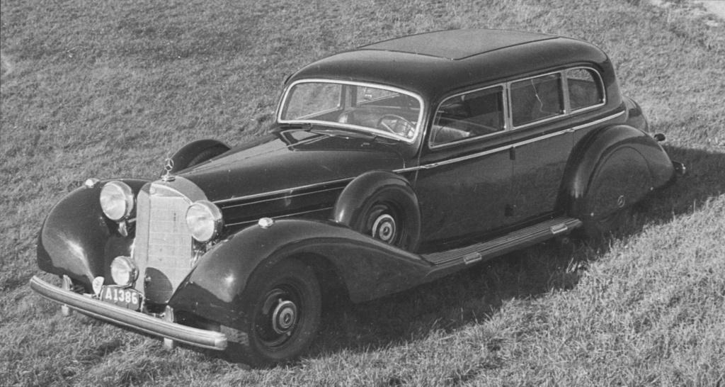 La Pullman limousine 1939 de la Cour de Suède N180-229
