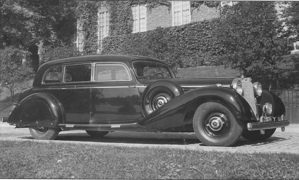 La Pullman limousine 1939 de la Cour de Suède N180-230