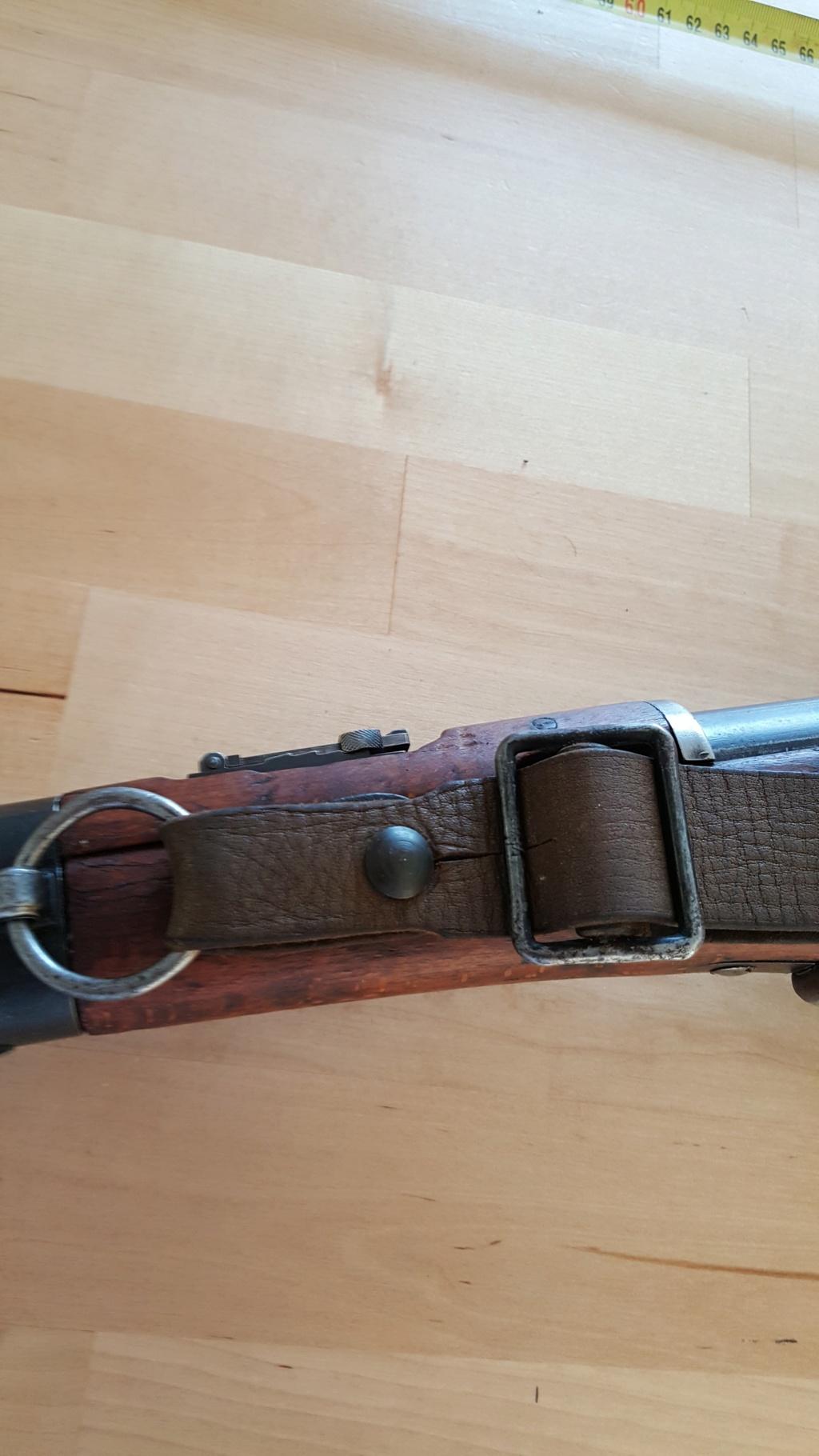 Affectation de ces bretelles à fusil françaises SVP Berthi10