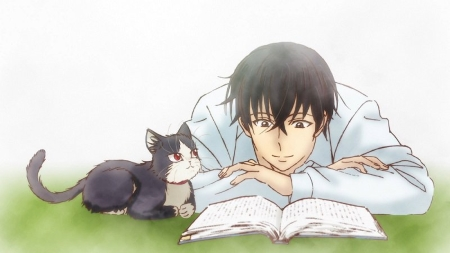 émue - [MANGA/ANIME] My Roommate is a Cat. Dwj79y10