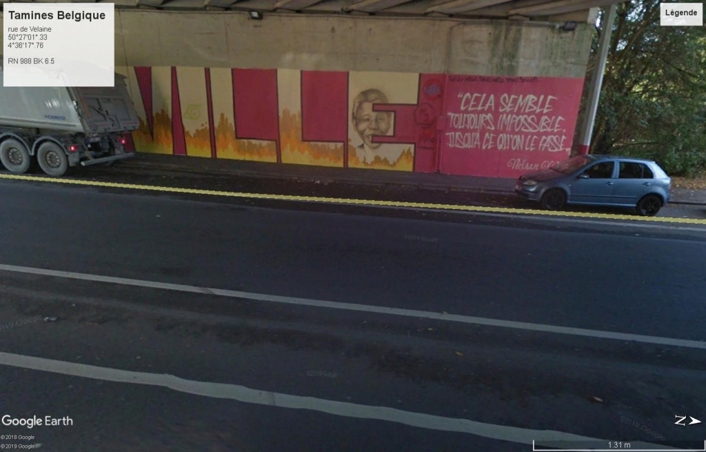 STREET VIEW : les fresques murales - MONDE (hors France) - Page 24 Tamine10