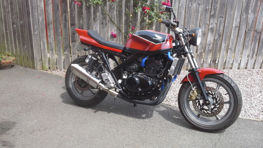 What did you do with your CB500 today? - Page 19 20190713