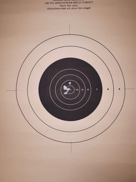 Cible a 50M et munitions - trajectoire 20191211