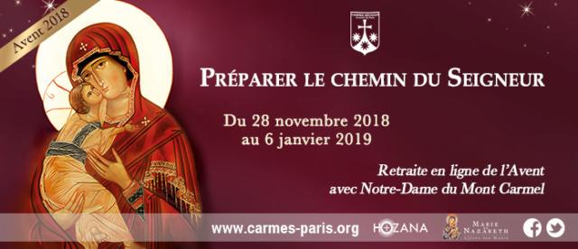 Vivre l'Avent 2018 avec Notre-Dame du Mont Carmel  1225