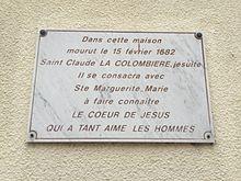 Saint Claude La Colombière : 15 février 123