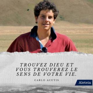 Bienheureux Carlo Acutis mort à 15 ans fête 12 Octobre Carlo-11