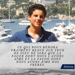 Bienheureux Carlo Acutis mort à 15 ans fête 12 Octobre Carlo-16