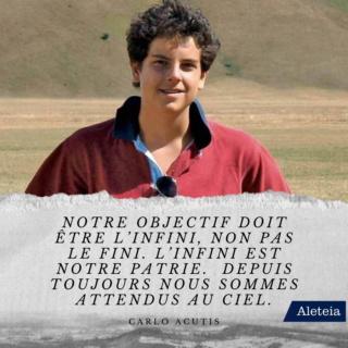 Bienheureux Carlo Acutis mort à 15 ans fête 12 Octobre Carlo-17