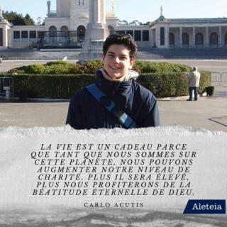 Bienheureux Carlo Acutis mort à 15 ans fête 12 Octobre Carlo-18