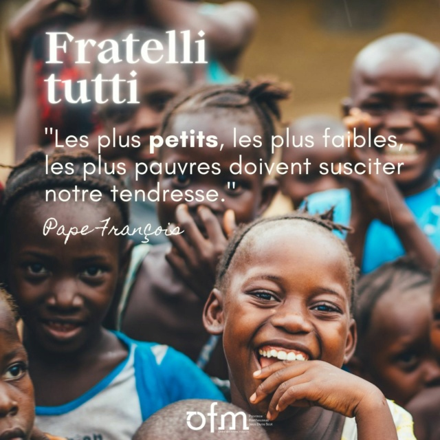 """Pape François encyclique """"Fratelli Tutti"""" Tous frères Fratel12"""