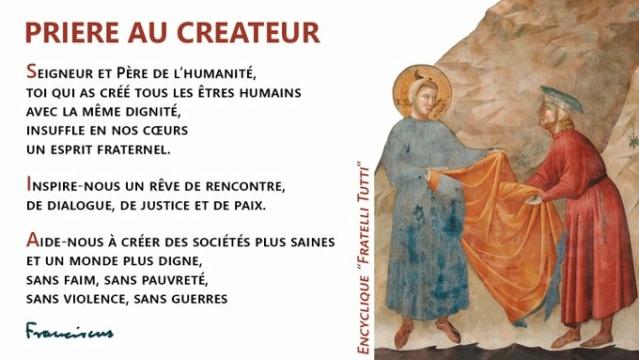 """Pape François encyclique """"Fratelli Tutti"""" Tous frères Pape_f10"""