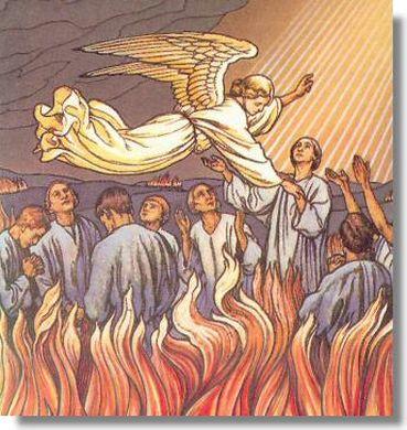 Prière pour les âmes du Purgatoire : Purgat10