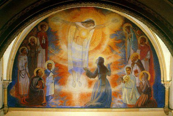 Sainte Marguerite-Marie et le Sacré-Coeur de Jésus : Sacrzo10