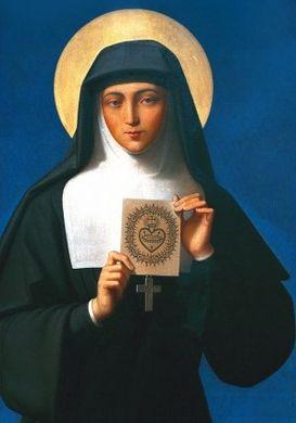 Sainte Marguerite-Marie et le Sacré-Coeur de Jésus : Sainte10