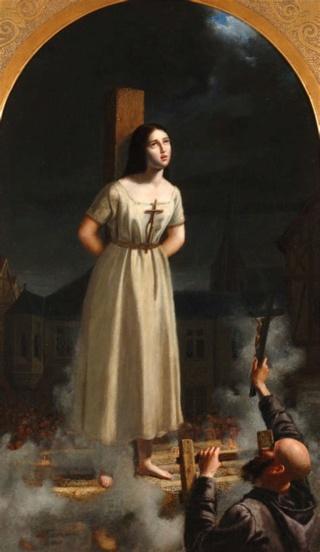 Sainte Jeanne d'Arc fête le 30 Mai Sainte18