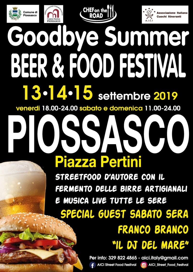 Goodbye Summer Beer & Food Festival - Piossasco C059e510