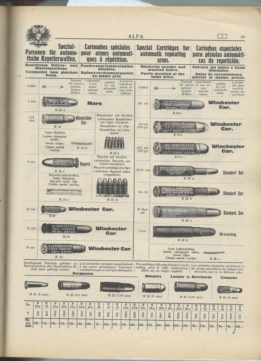 Le Luger dans les catalogues de vente de 1900 à 1934 - Page 2 81791610