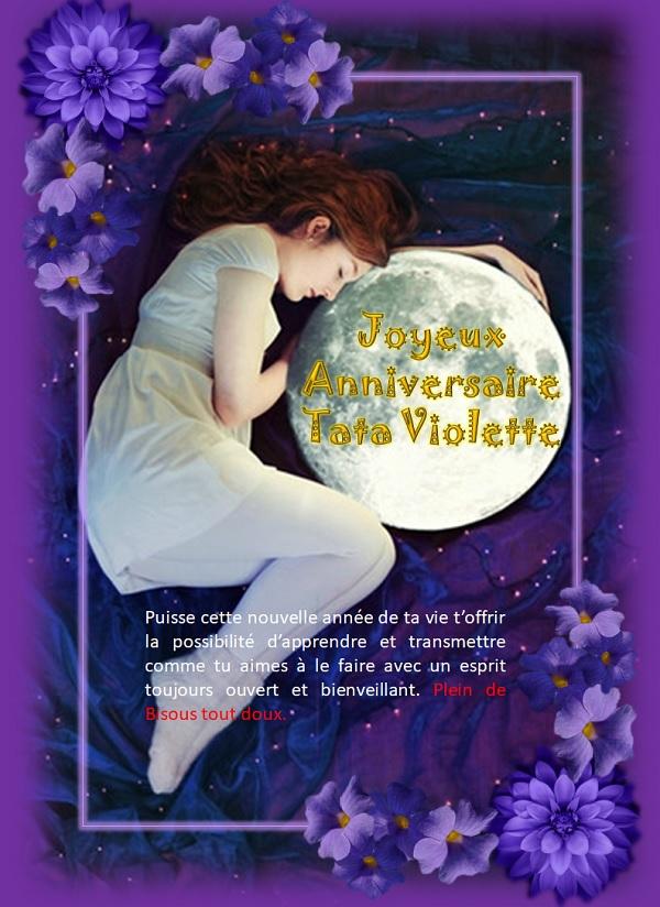 Violette, Vio,Vio Birthday Now Annive13