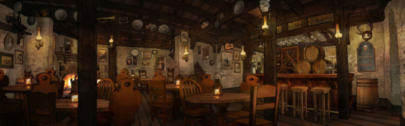 Na Taverna do Porco Falante! Um encontro inesperado. Tavern10