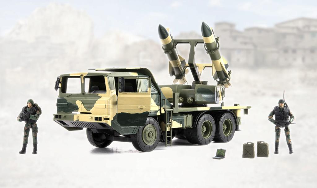 MAN KAT 6x6/KS-1/HQ-12 SAM mash-up _ken3410