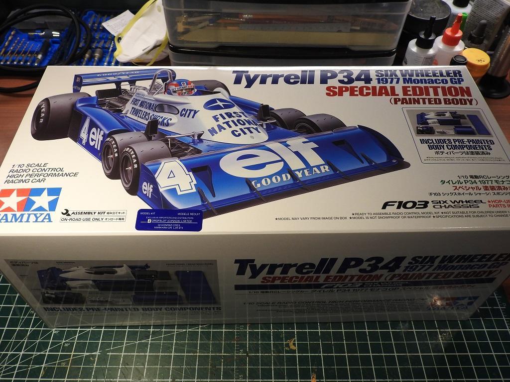 Tamiya 1/10 Tyrrell P34 1977 Special Edition Release Dscn2426