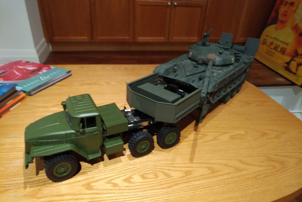 WPL Ural 6x6 converted tractor with Bruder trailer Img_2015