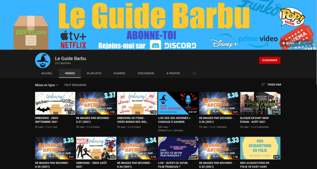 ⭐️⭐️⭐️ Le Vidéaste à l'Honneur #70 Le Guide Barbu | Venez critiquer cette chaîne ! Le_gui10