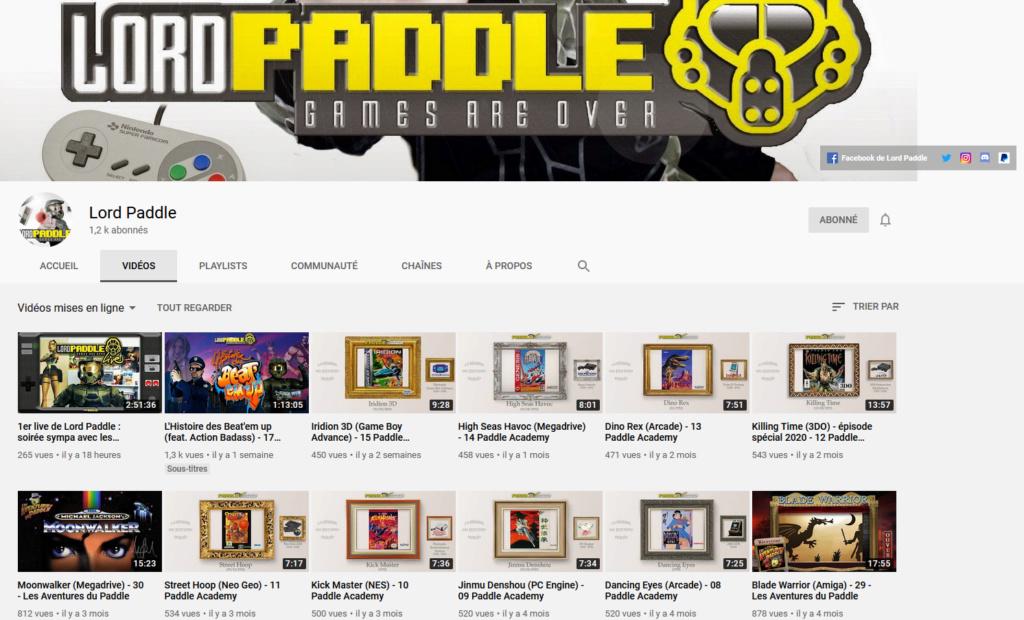 ★★★ Le Vidéaste à l'Honneur #43 | Lord Paddle | Venez critiquer cette chaîne ! Lord_p10