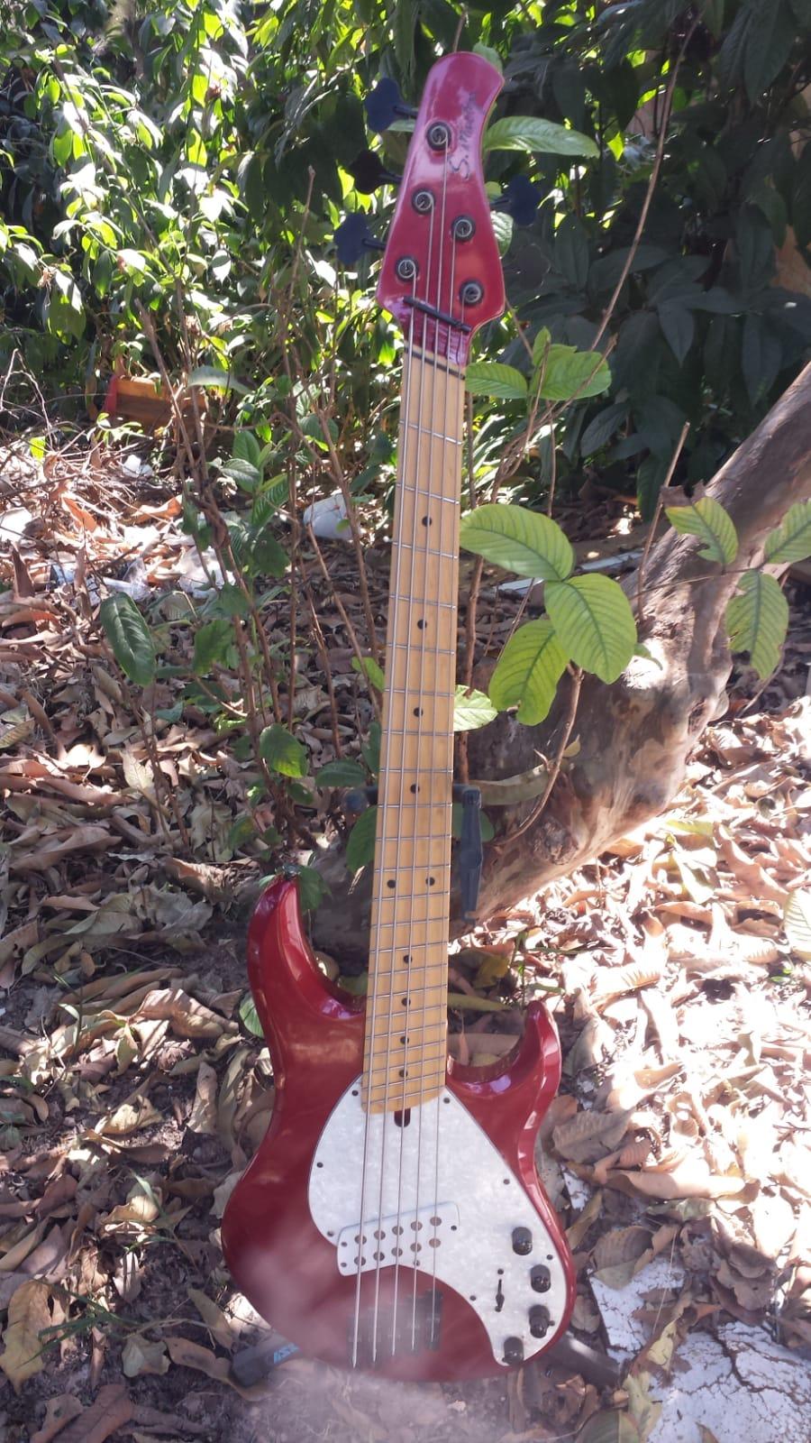 Smartyn Modern Ray por Fender Precision Bass Whatsa17