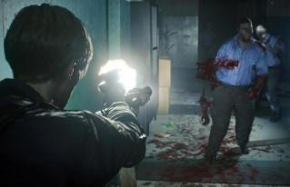 Реалистичная кровь в Resident Evil 2 5pg93p10