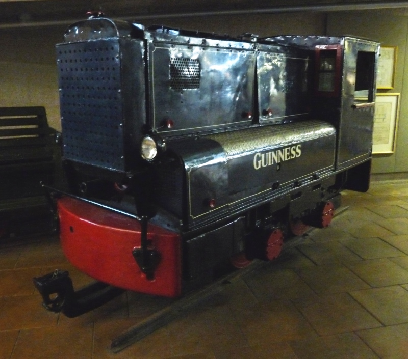 The Guinness Brewery Railways, Dublin Guines11