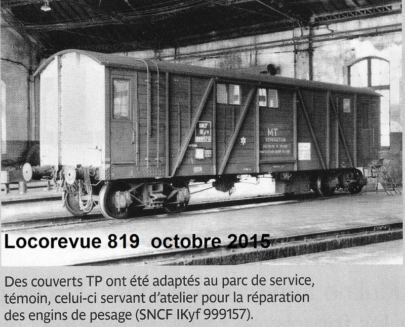 """Train des """"balanciers"""" , demande de renseignements Wagon_11"""