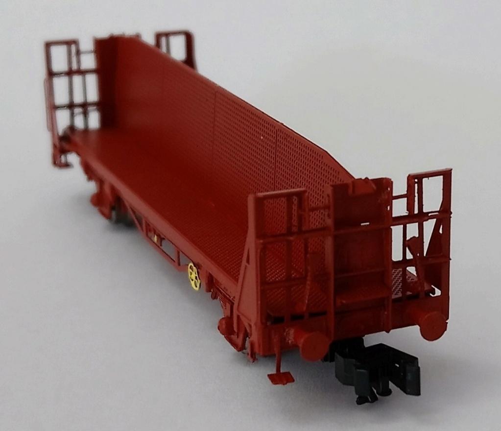"""[TJ-Modeles] TJ-7547 : Wagon porte bûches CIMT """"Beghin"""" (kit) - Echelle N Tj-75412"""