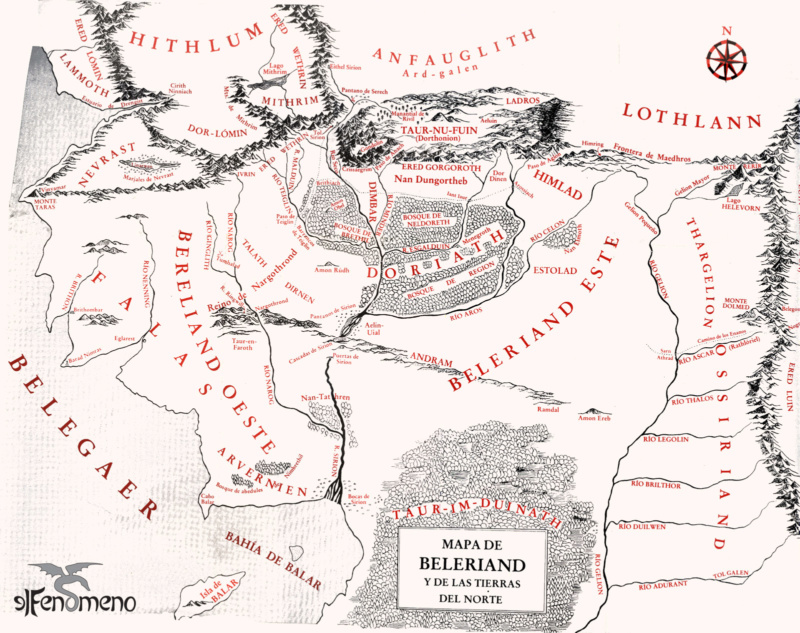 De la tierra de Beleriand Imagen13