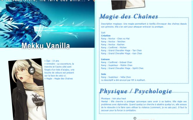 Vanilla - Fiche réparée Fiche10