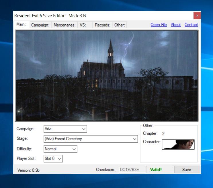Editor de Salvado para PC 210
