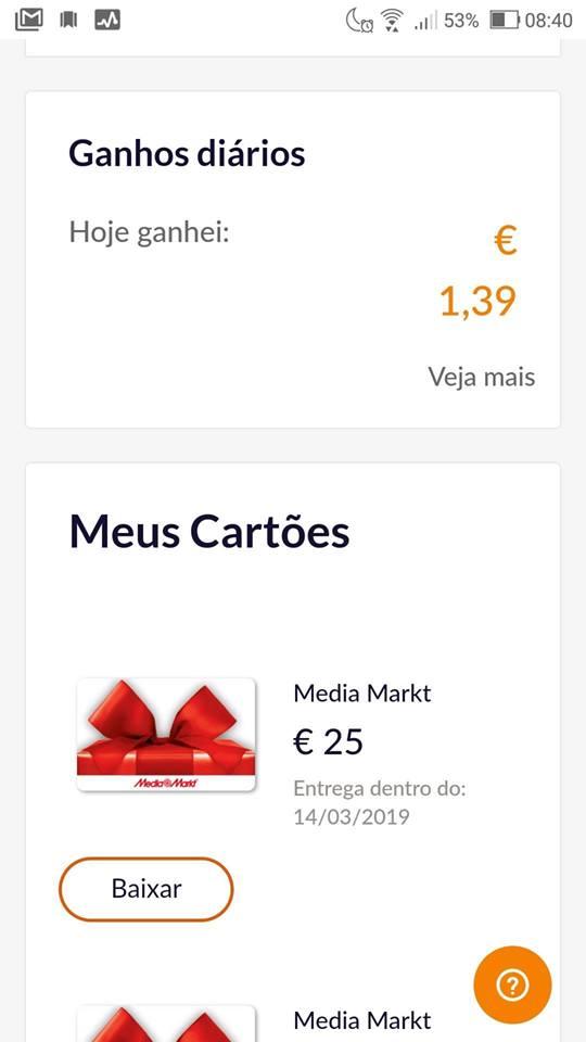 Oportunidade [Provado] Sixthcontinent - Vales Media Markt, Cepsa, Decathlon, Mango, etc por metade do preço! (já poupei 154 euros) 51882810