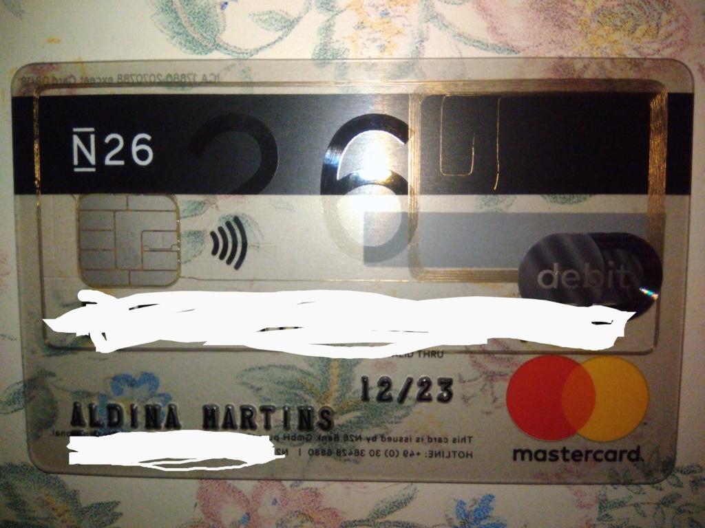 Oportunidade [Testar] N26 Banco online - Recebe 15€/por referido na sua 1ª transacção de 15€ e 50% em Lime 57308711